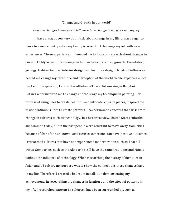 Purpose of art essay