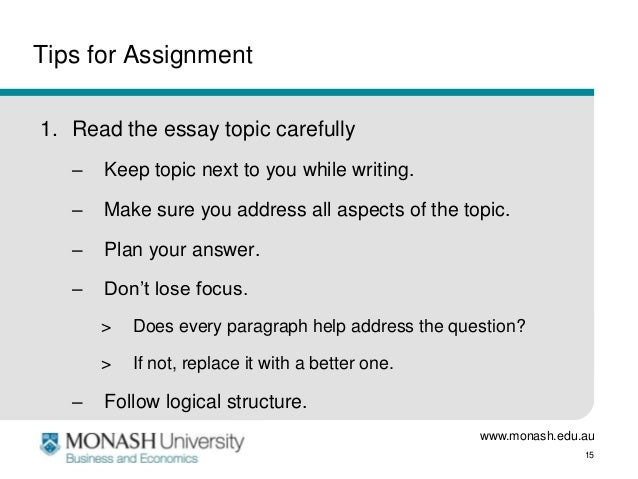 Professional Essays   Tips For Assignment Read The Essay Topic  Generation Differences Essay also Essay On Crime International Management  Essay Preparation Essay On Company