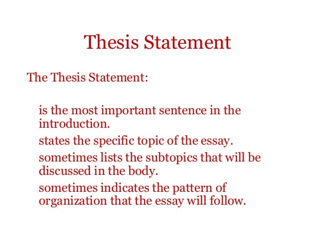 thesis paragraph outline