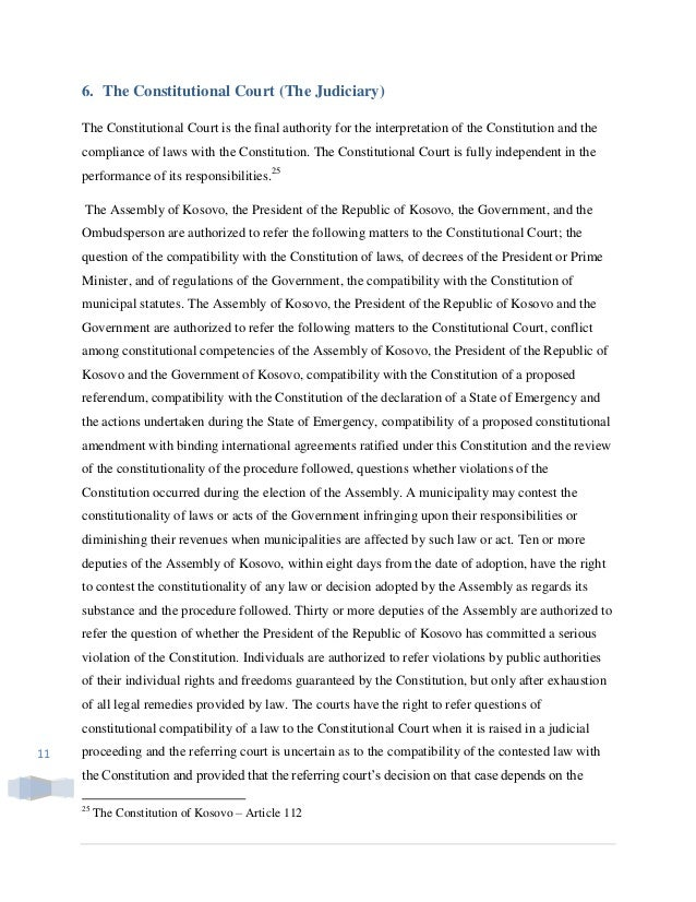 separation of powers research paper