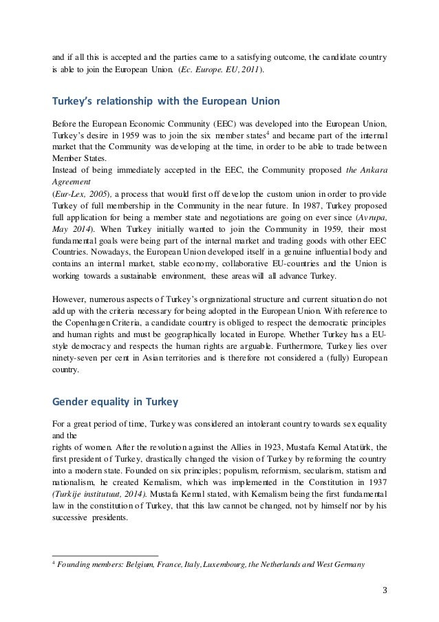 essay ke sm the non eu standard of turkey  3