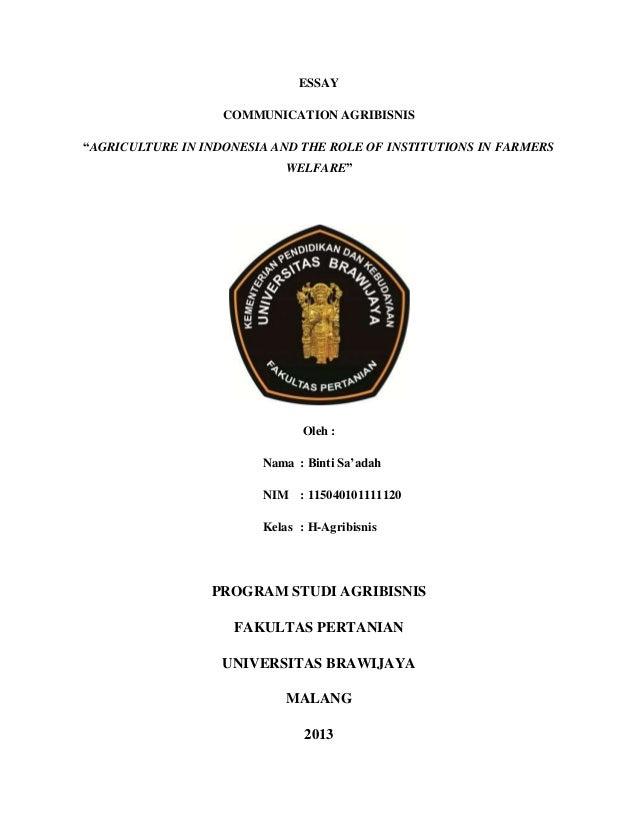 thesis bahasa inggris