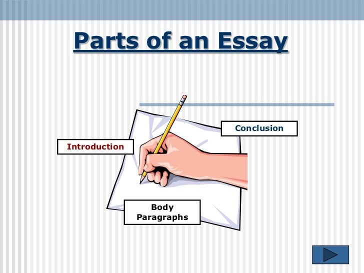 Parts of an essay introduction