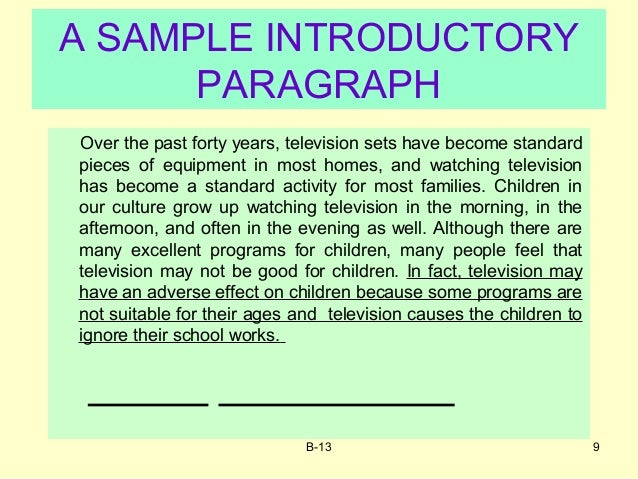 essays on television advantages The advantages and disadvantages of television essay below is a list of ielts sample essay questions for advantage / disadvantage essays in writing task 2.