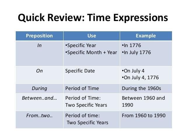 preposition essay