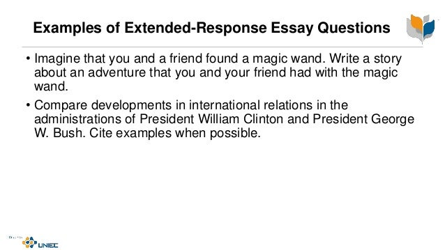 Response to an essay question
