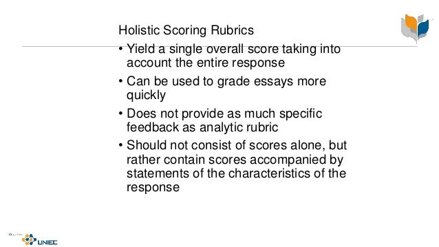 holistic essay scoring six point scale And by vantage learning inc's automated essay scoring  six-point holistic rubric as a starting point,  on the holistic scale were present in this sample but.