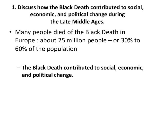 black death thesis statement This timeline is a chronology of the spread of the black death that reached europe in the mid 14th century killing around 50 million people - possibly as many as two thirds of the population.