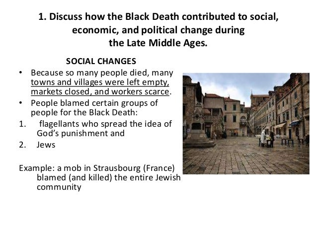 essay questions chap  3 1 discuss how the black death