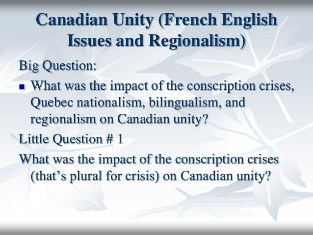 regionalism in canada essay But it didn't take canada's first  louigheed established a task force to look at ways of reforming the senate and its recommendation was for the direct.