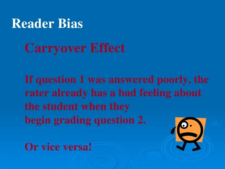 rater drift in scoring essays Title: rater effects on essay scoring: a multilevel analysis of severity drift, central tendency, and rater experience created date: 20160802055237z.