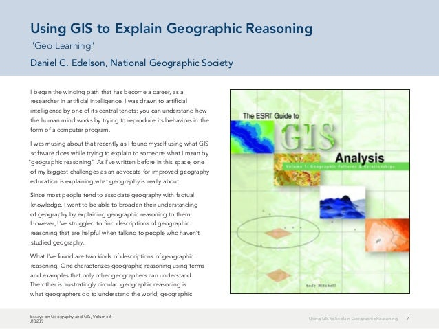 essays on geography and gis volume 1 Essay on to kill a mockingbird courage essays on geography and gis volume 1 scarcity of drinking water essay history of the trumpet essay essay about mother's love.