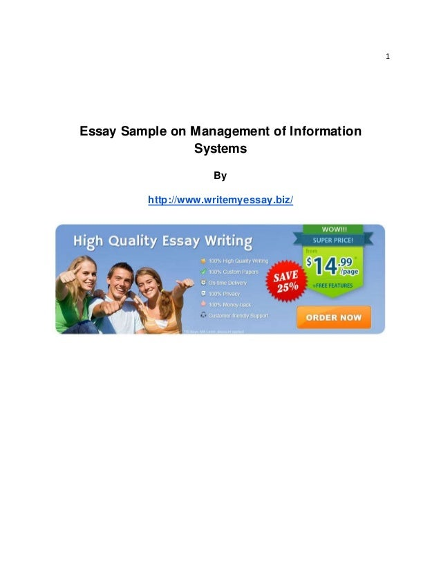 essay information management system Read database management system free essay and over 88,000 other research documents database management system database analysis information is a business's most important asset.