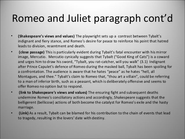 baz luhrmanns romeo and juliet essay Essay question: baz luhrmann's visually appealing and confronting film successfully modernises shakespeare's romeo and juliet baz luhrmann's visually appealing and.