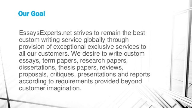 Online custom writing services