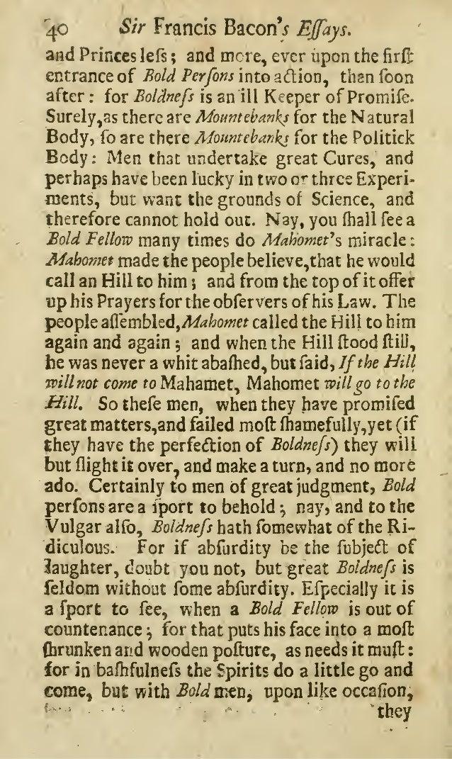The Essays of Francis Bacon/XXXIII Of Plantations