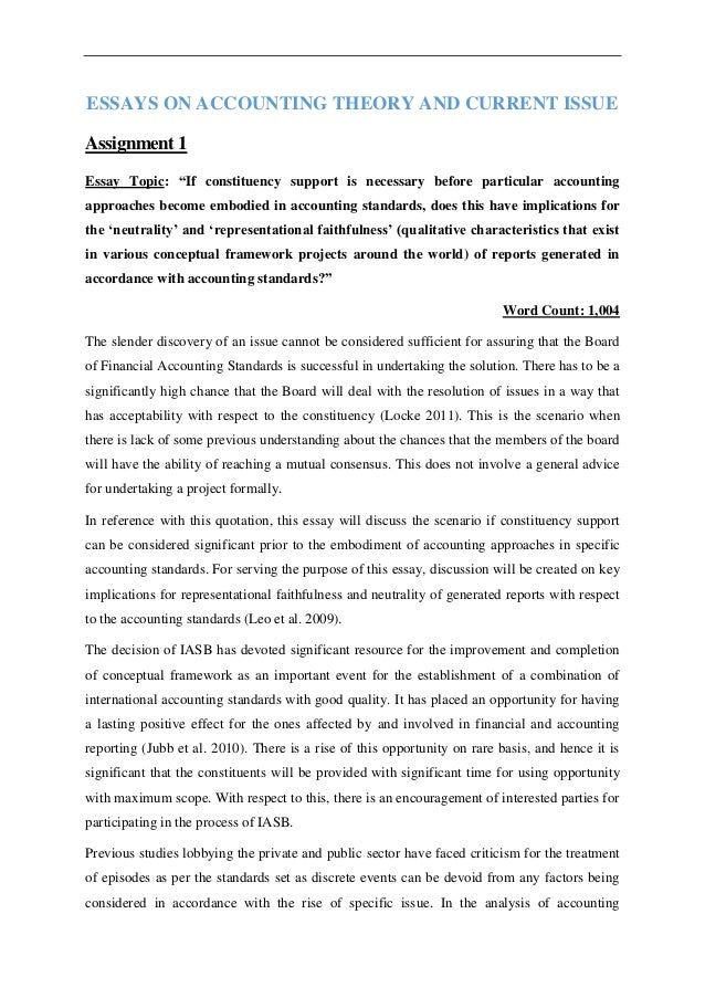 Frankenstein Isolation Essay Essays On Accounting Theory And Current Issue Assignment  Essay Topic If  Constituency Support  Writing About Yourself Essay also Essay For Lord Of The Flies Essays On Accounting Theory And Current Issue Who Am I Essay Samples