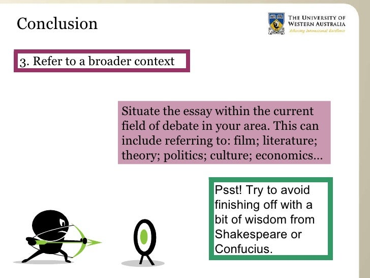 Conclusions for art essays