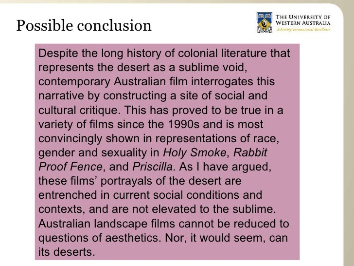 Concluding an art essay introduction
