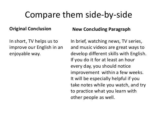 Good Conclusion Sentences For An Essay - Homework for you