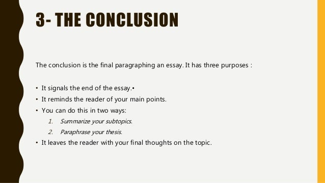 which of the following would be used in the body of a formal essay The discussion here is for a formal academic essay (thesis-and-support paper)   since there should be a separate body paragraph for each proof point, the more   assignment does not require a specific mode these strategies are used as.