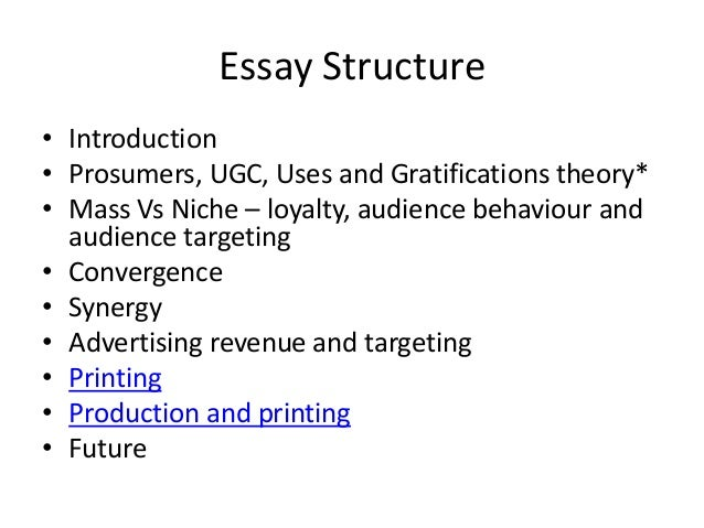 essay structure discuss Analytical essay this is perhaps the most common structure examples of this include questions which ask you to discuss, analyse, investigate, explore or review in an analytical structure you are required to break the topic into its different components and discuss these in separate paragraphs or sections, demonstrating.