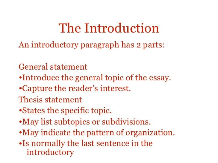 an introduction to the essay on the topic of a rainmaker An introduction for ielts candidates on how to write topic sentences in ielts essays by treating them as signposts to the content of the paragraph to follow.