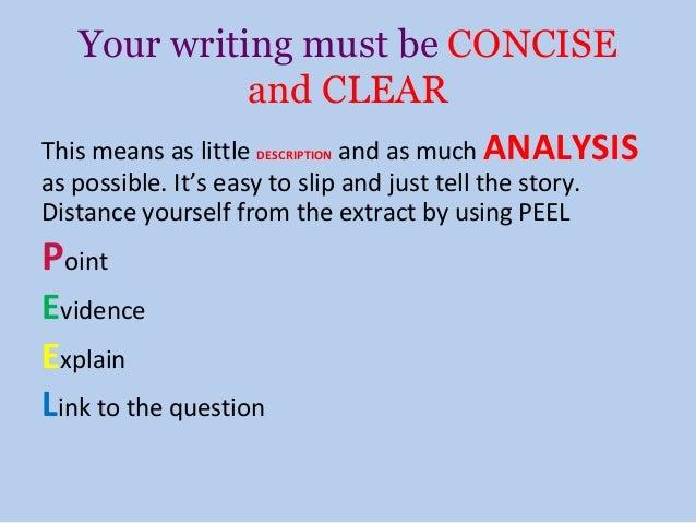 Analysis essay tv show