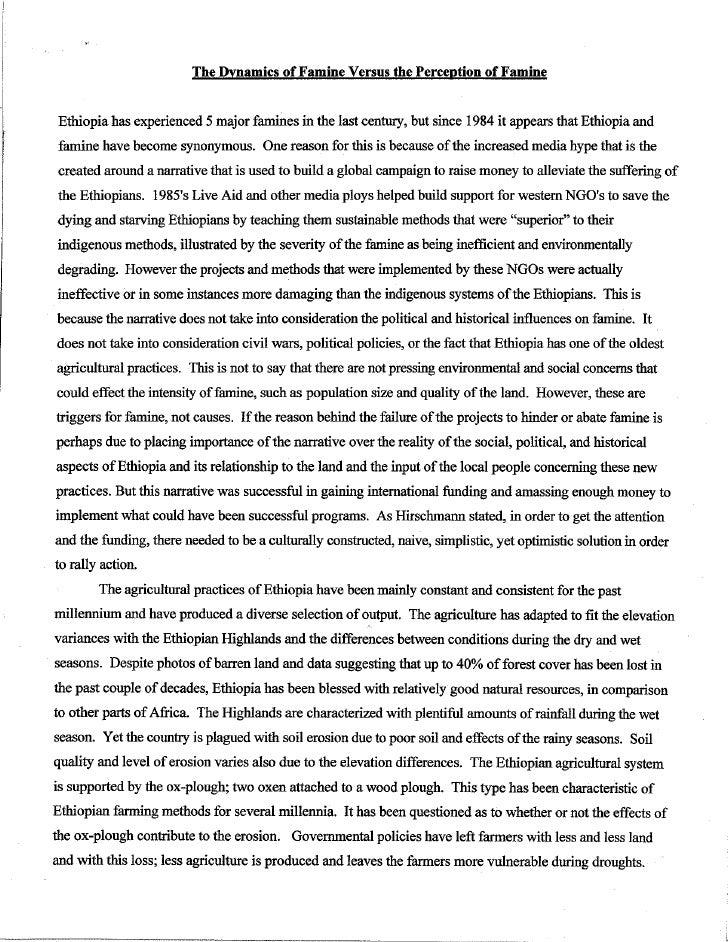 short essay on potato