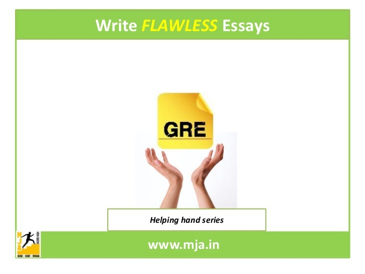 Gre essay review service