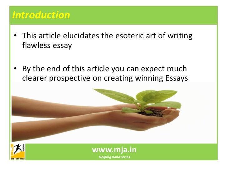 Gmat essays