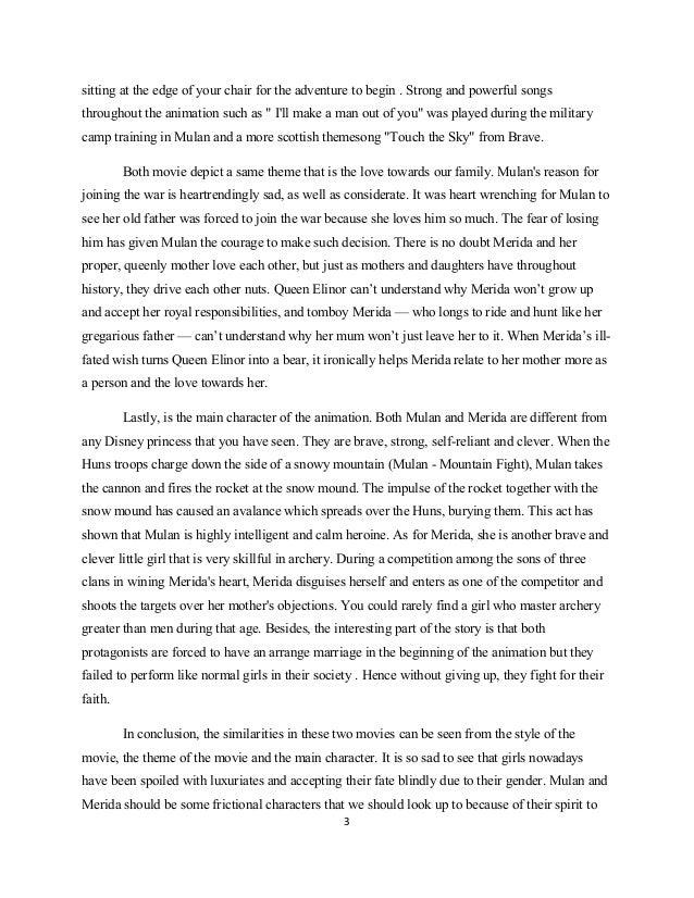 English Essay Two