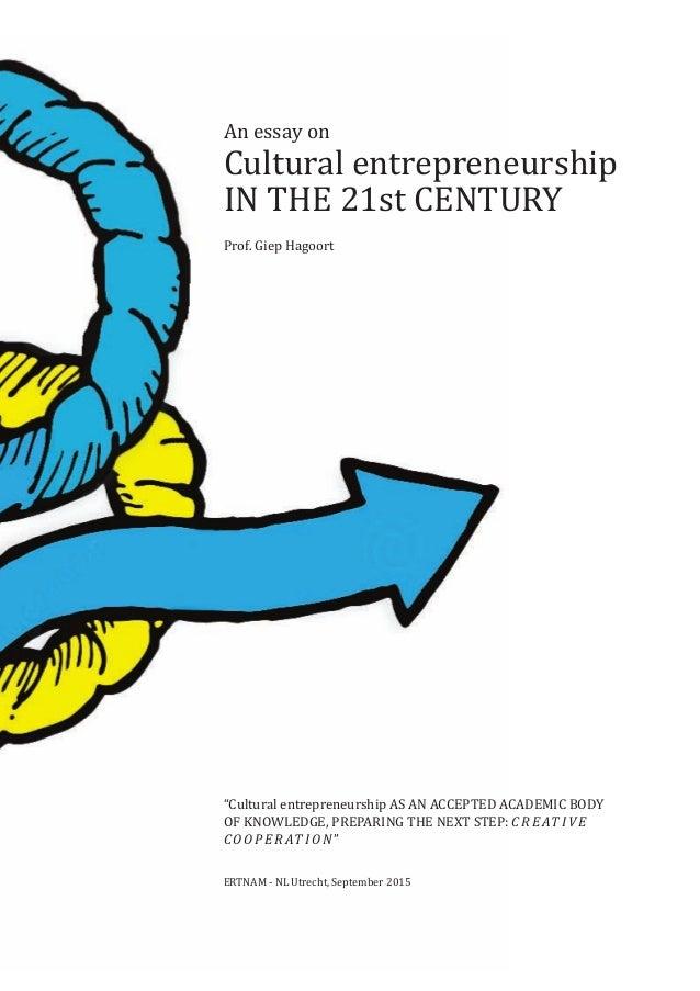 essay about an entrepreneur