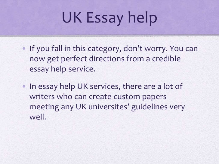 Essay writer in uk