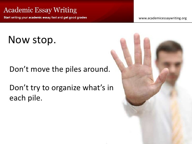 how to start your essay