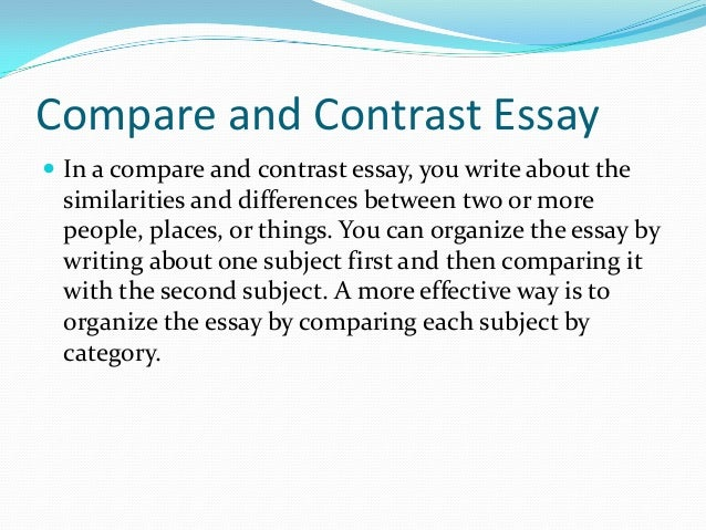 Weather essay