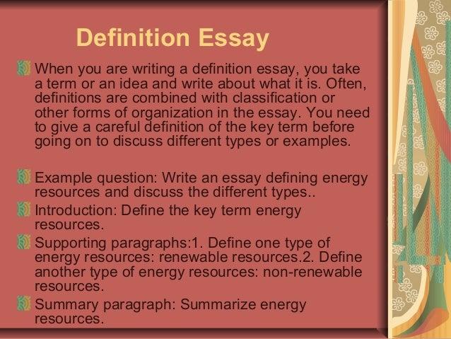 Define Essay Type Test - Testing instruments in