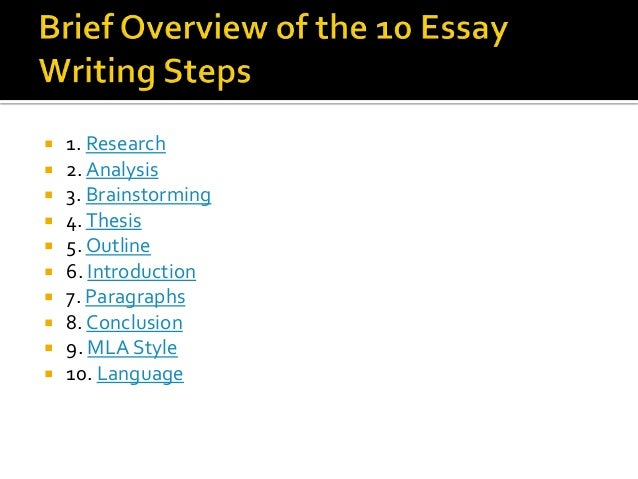 Language         Parts of an Essay     SlideShare