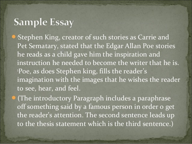 Write or die essay by stephen king