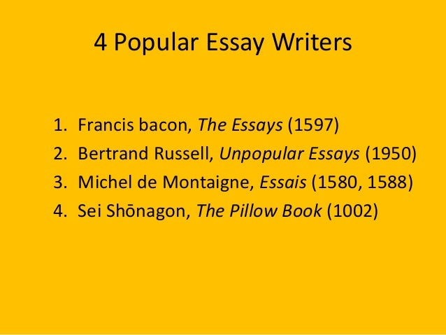 Unpopular Essays: Introduction, Summary and Critical Stance