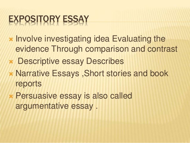 comparison and contrast essay exercises