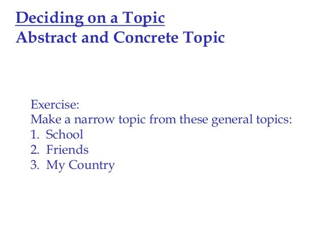general topics for essay General topics here are writing prompts for the major topics that appear in scott foresman esl grades 6-8 this site also has writing prompts for topics in each unit for grades 6-8.