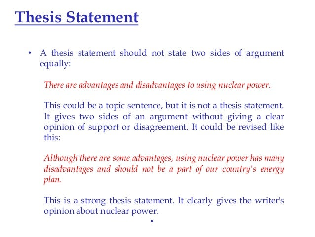 parts of a good thesis statement 13 make a good thesis statement  -thesis statement it is use as part of academic essay  use as arguments of the main idea  remember that a good thesis can be.