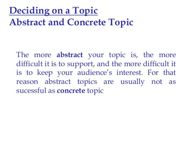 essay writing nd upload  9 deciding on a topic abstract