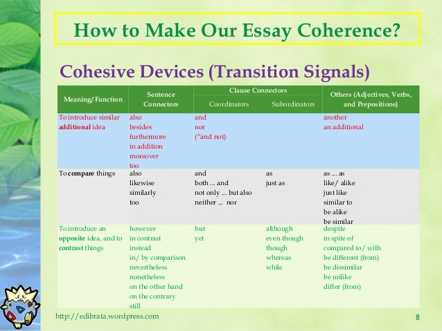 what is a cohesive essay cohesive essay definition chinese english ...