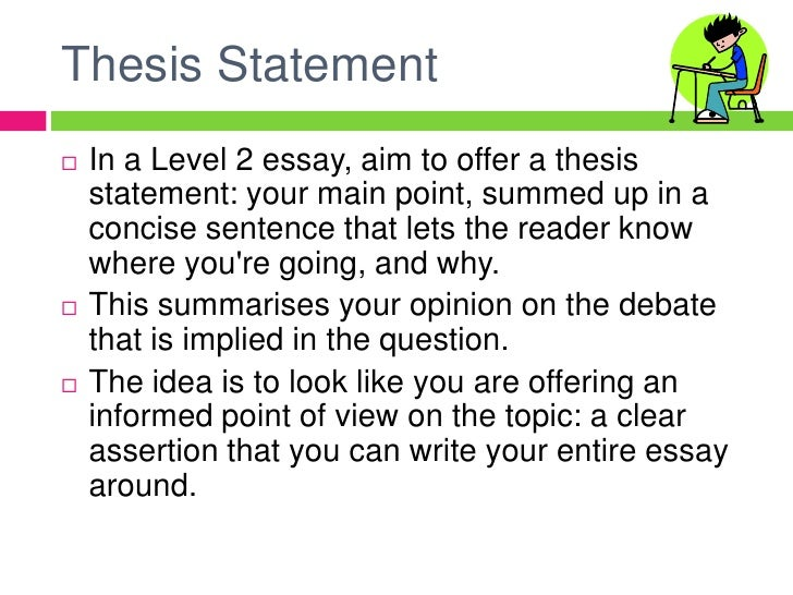 Essay Writing At Level  Br   Thesis Statementbr In A Level  Essay  High School Essays Samples also Sample English Essays  Custom Term Papers And Essays
