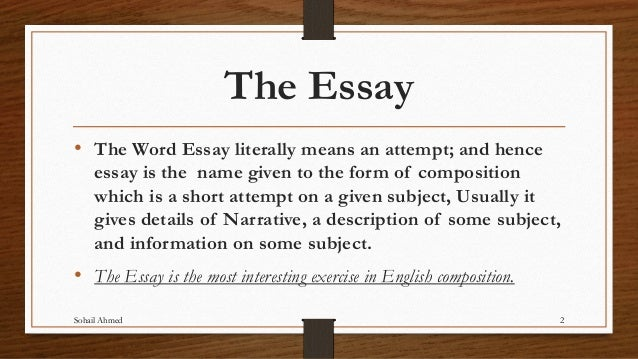 essay writing by sohail ahmed essay writing sohail ahmed english lecturer 2