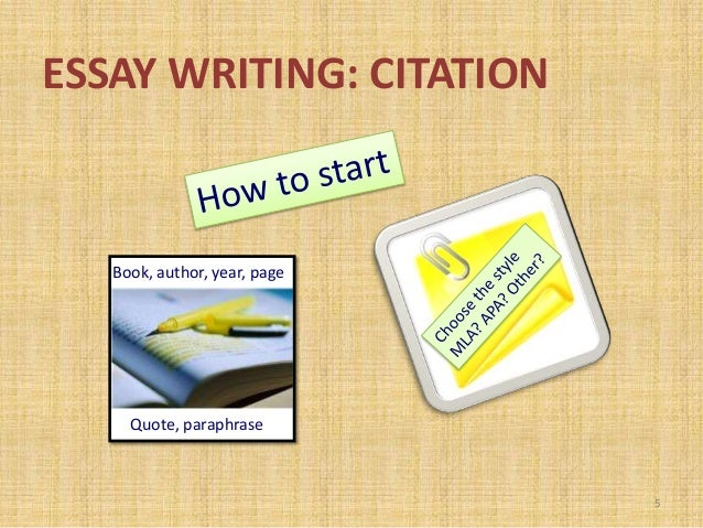writing citation How to write in‐text citations in order to indicate where specific information in an essay or report came from, a writer must immediately follow the borrowed information with an in-text citation in-text citations are a vital part of any r.
