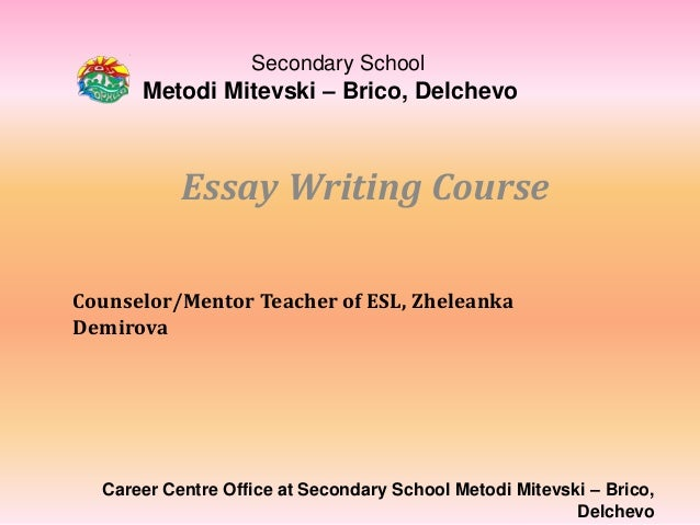 thesis writing course