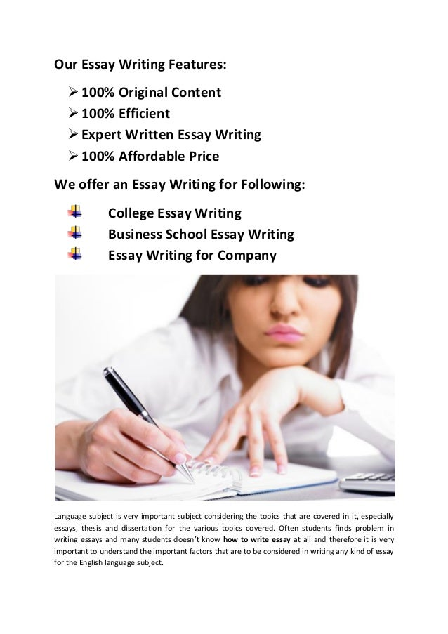 easy essay writing outline